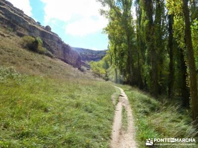 Hoces del Río Duratón - Sepúlveda;grupos amistad itinerarios madrid rutas verdes